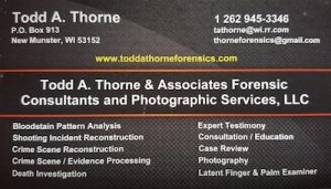 Todd A. Thorne Forensics, L.L.C.